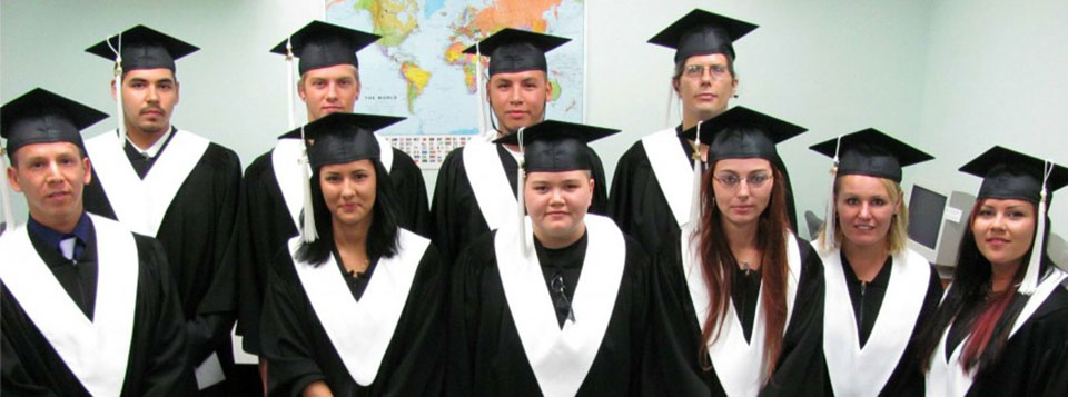 Some of our happy grads from June 2011.